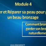 Comment bronzer et garder son bronzage: Module 4