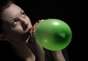 Ballon qui gonfle comme la peau