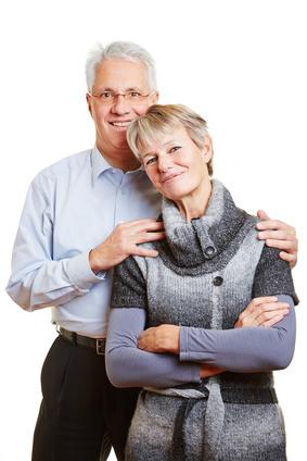 Couple à la Peau équilibrée