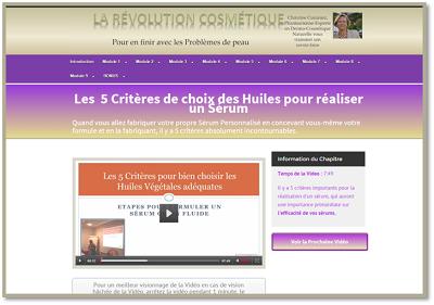 Site de La Révolution Cosmétique