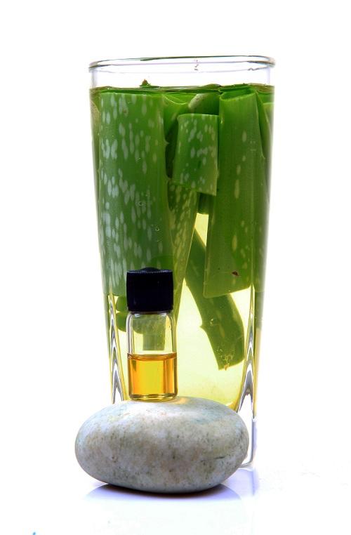 Aloe vera en huile