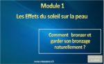 Comment Bronzer Module 1