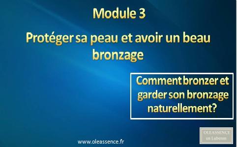 Comment Bronzer Module 3