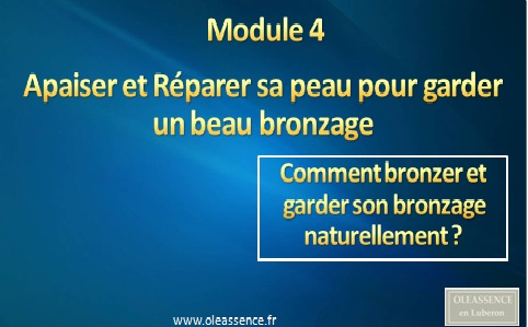 Comment Bronzer Module 4