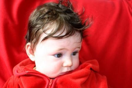 bébé acné du nourrisson