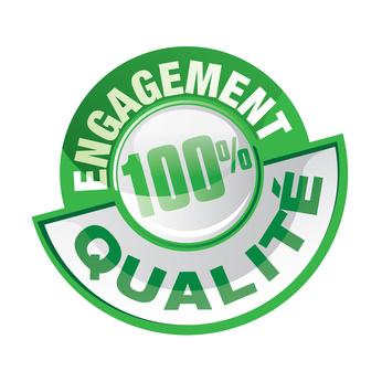 icône Engagement 100% qualité