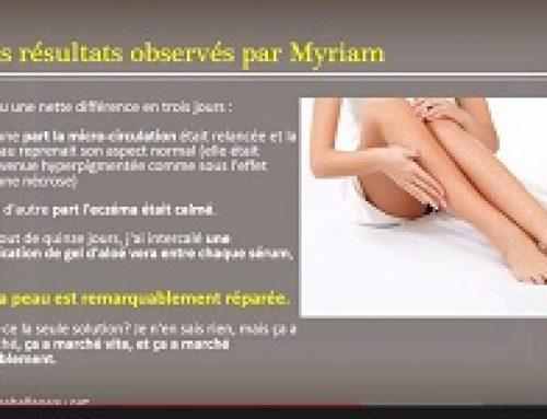 Enlever une marque, le Témoignage impressionnant de Myriam