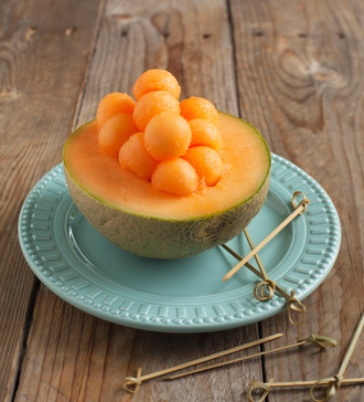 Melon pour bien bronzer