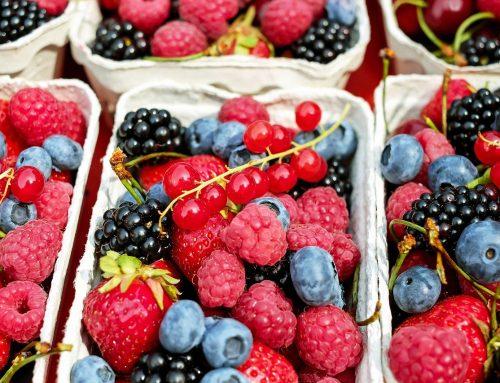 Fruits rouges & baies noires : des aliments bon pour votre peau !
