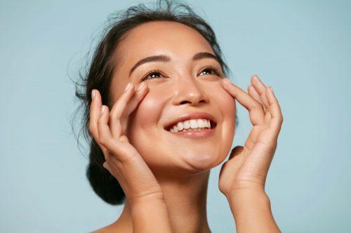 femme peau hydratée