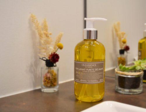 Nouveau : le soin lavant pureté des mains à l'huile de Cameline !