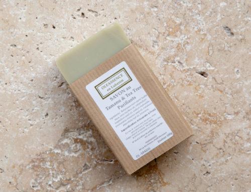 Peau à problèmes : découvrez le nouveau savon surgras Bio aux huiles purifiantes !